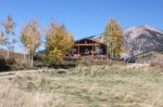 vacation rental cabin in Gunnison Colorado in fall