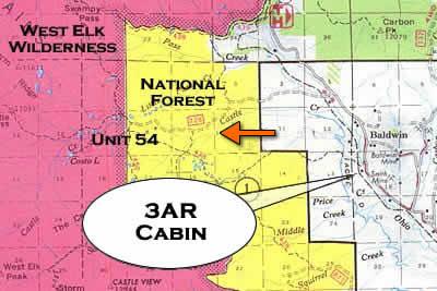 Hunting Rockinar - Colorado hunting zone map